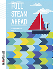Full steam ahead, annual report 2014/15