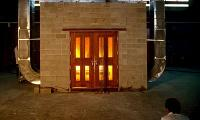 Fire testing of parliamentary doors at the Fire