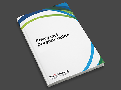 Image of the Policy and program guide cover